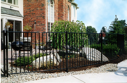 Custom Iron Fence Installation Fort Worth Ornamental